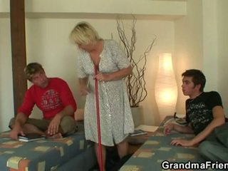 scheiß-, gang bang, hot mom