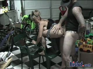 Blonde scout rides a cock and gets a facial blast