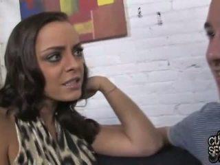 Liza Del Sierra assfucked in front of a Cuckold
