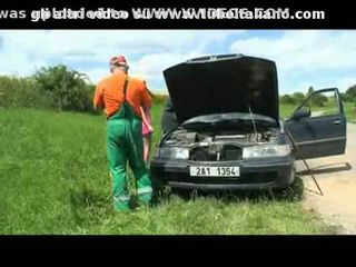 prstoklad, vonkajšie, auto