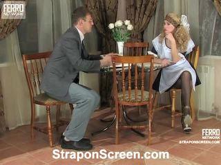 Irene और patrick हॉट स्ट्रैपआन निष्पादन