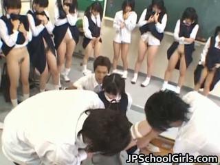 Гаряча секс дівчина в школа класна кімната