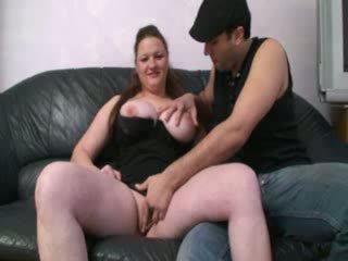 Melissa, french BBW sodomized