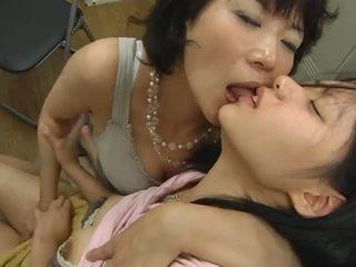 japonês, lésbicas, calcinhas
