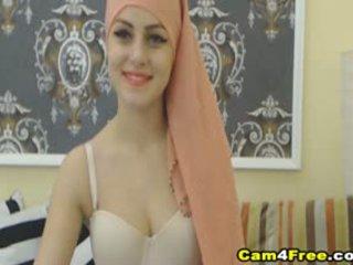 Môj krásne muslim sused strokes ju hračka