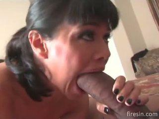 Dana Vespoli loves black dick