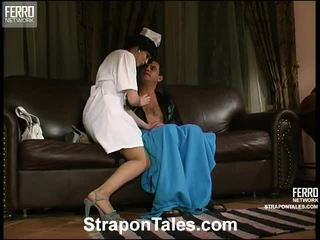 Katrine And Hubert Nasty Strapon Film