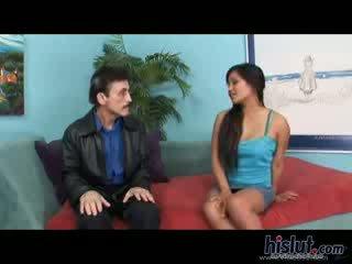 Lana Violet Mika Tan chick Mature oriental Three Some dark haired