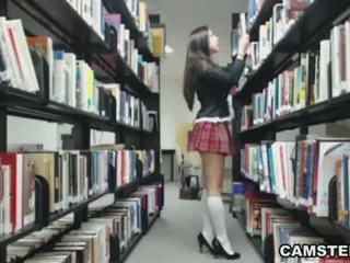 webbkameran, striptease, school