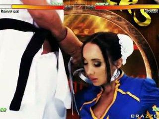 Katsumi lusty ベイブ とともに chap で 衣装 のような ハード フェラチオ