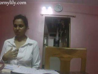 Intialainen seksi opettaja kimainen lily rakkaus lesson