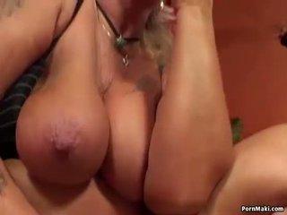 Granny having anal sex with fucking machine