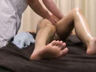 Beauty parlor massaaž spycam