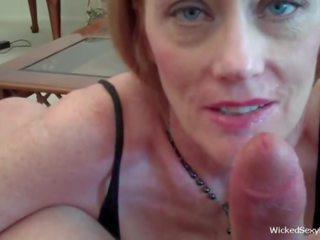 Amateur GILF is a Wild Fuck, Free Wicked Sexy Melanie Porn Video