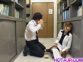 Misaki inaba kissed päällä nailon