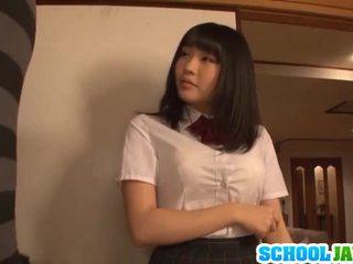 Satomi appreciates duży długo pork dagger