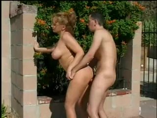 Doxy Rebecca Bardoux Drains Rod Dry Of Cream After Wild Outdoor Fuck
