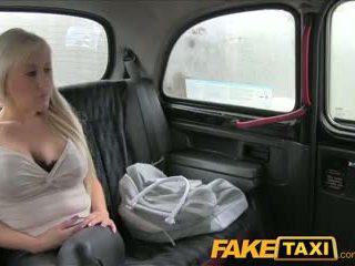 FakeTaxi Big tits blonde has hot sex w...