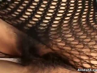 ücretsiz japon, sıcak fishnet, bodystocking