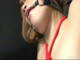 Hatsuka Kobayashi Tied Up And Teased U...