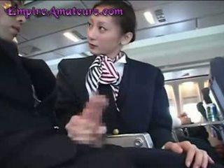 日本語 空中小姐 assists 男人