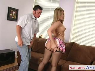 Grande assed hottie alexis texas follando
