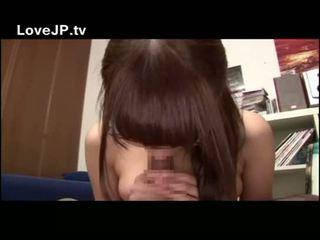 Busty Asian College Girl In Japan Wear...