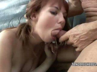 T a a redheads: červenovlasé násťročné hottie delila miláčik gets fucked