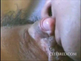 Секси момиче с а голям клитор closeup играчки путка licking мисионерска хардкор езда doggy домашно