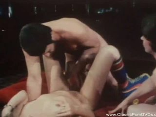 Classic American Threesome from 1973, Porn 79