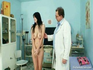 Velký knocker adriana mléko shakes a mound gyno zkouška na excentrický clinic