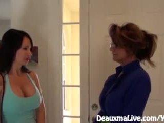 אמא שאני אוהב לדפוק deauxma scissors angie ל למכור שלה בית!