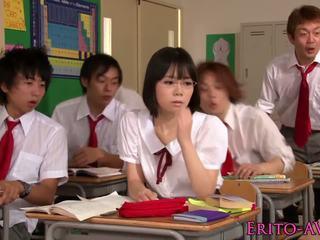 japonais, adolescence, des stars du porno