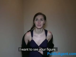 Publicagent αδύνατος/η μελαχρινός/ή pounded με ένα μεγάλος τσέχικο καβλί - πορνό βίντεο 741