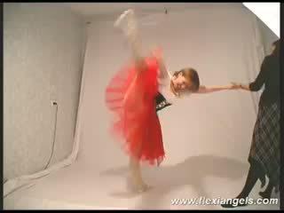 젊은 발레 댄서 katja
