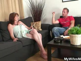 Mother in law fucks him but aýaly finds out them