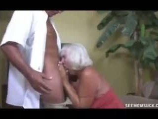 bà nội, blowjob, cumshot