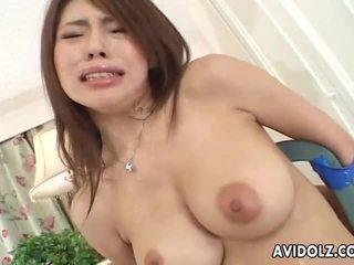 Kecil mungil jepang babe servicing two cocks