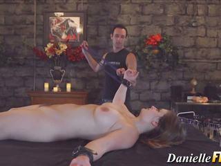 Bound Pornstar Babe Toyed, Free Danielle FTV HD Porn b9