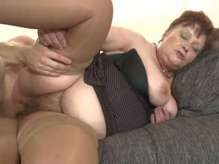 Bigtit Granny Suck and Fuck College Boy, Porn b3