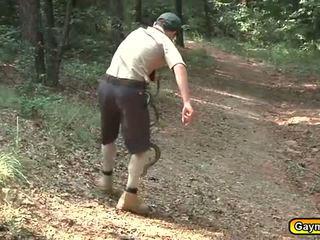 Scouts draußen lutschen und ficken aktivität