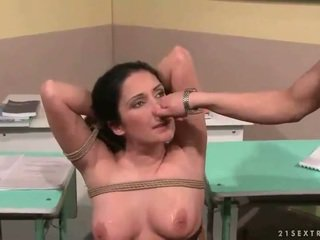 Teacher punishing her sexy student