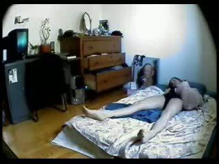 masturberen, masturbatie, zus