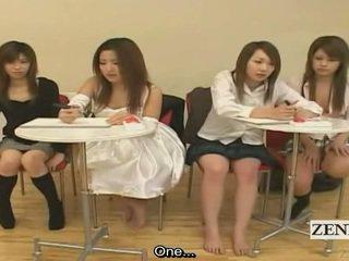 Subtitled japans amateur quiz spelletje friends kijken seks