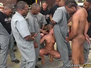 Amirah adara fucks an entire crew di nero guys