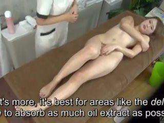 Subtitled enf cfnf японська лесбіянка clitoris масаж clinic