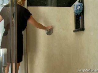 Cycate kelly madison having gorące sudsy seks w the prysznic