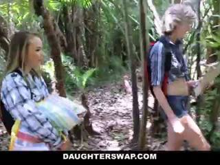 Daughterswap- हॉर्नी daughters बकवास dads पर camping यात्रा <span class=duration>- 10 min</span>