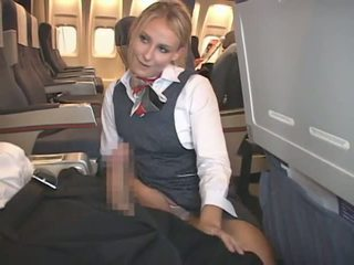 corrida, interracial, stewardess