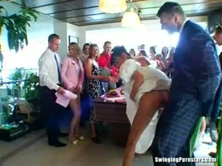 חתונה whores are מזיין ב ציבורי